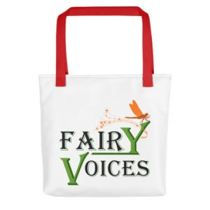 Fairy Voices Awareness Tote Bag
