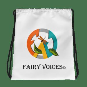 Fairy Voices Awareness Drawstring Bag