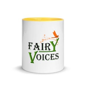 Fairy Voices Nature Awareness Mug with Color Inside