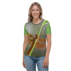 Nature beings   are practicing  social distancing   since they   contacted humans. Women's T-shirt