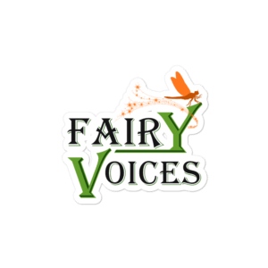 Fairy Voices Nature Awareness Bubble-free stickers